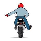 Motorcycle Road Hazard