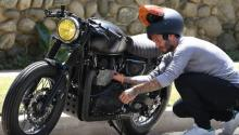 David Beckham's motorcycle collection