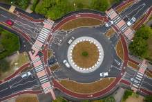Dutch style round abouts are here