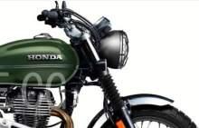 Honda CB350 H'ness Scrambler